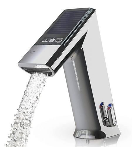 nuevo grifo eléctrico que ayuda ahorrar agua