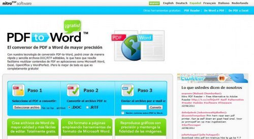 Download Of The Warez: CONVERTIR WORD A PDF DESCARGAR GRATIS