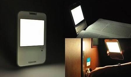 Toshiba realiza donación de lámparas OLED a Japón