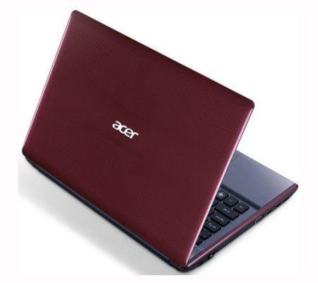 Acer Aspire 4755G, nueva laptop con altas especificaciones