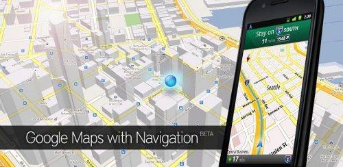 Android cuenta con nueva versión de Google Maps