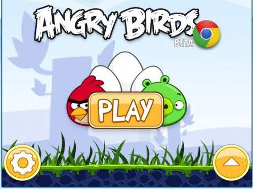 Angry Birds, versión Chrome