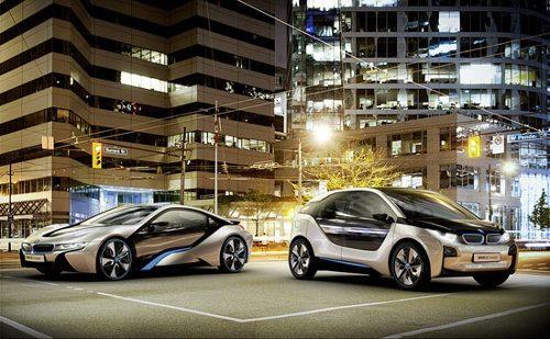 BMW i: el auto híbrido más atractivo que has visto en tu vida