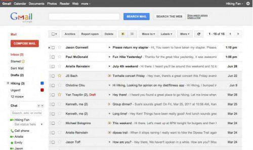 Este es el nuevo aspecto de Gmail