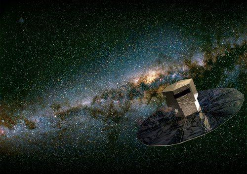 Europa planea llevar los gigapixeles al espacio abordo de la sonda Gaia