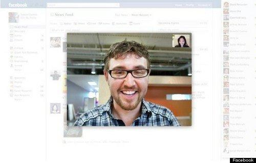 Facebook ya cuenta con chat grupal y con videollamadas gracias a Skype