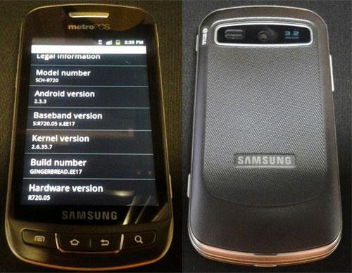 Filtrado el nuevo Samsung Admire