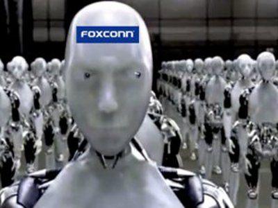 Foxconn reemplazará trabajadores con un millón de robots