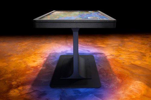 Ideum presenta la nueva mesa multi-touch MT55 Platform