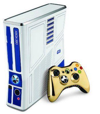 Microsoft presenta Xbox 360 inspirada en Star Wars