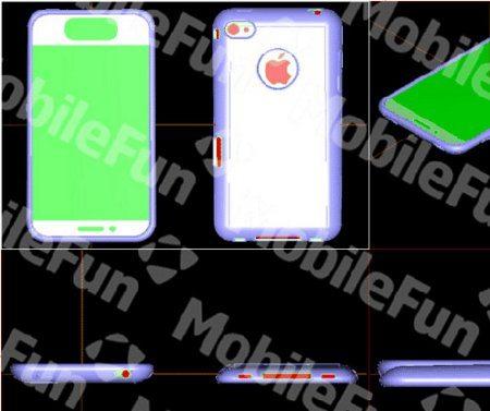 Mira el diseño del iPhone 5