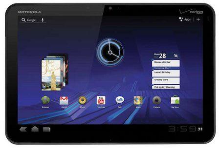 Motorola prepara un tablet con altísima resolución