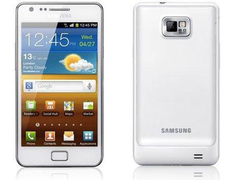 Revelado el Samsung Galaxy S II de color blanco