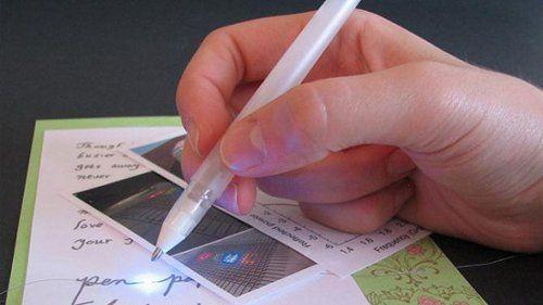 "Un bolígrafo es capaz de ""dibujar"" circuitos"