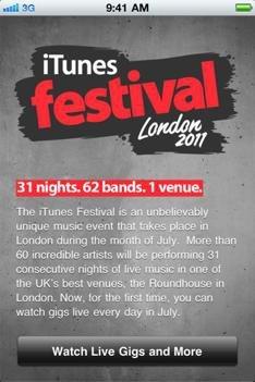 iTunes Festival 2011