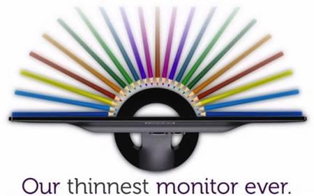 Dell S2330MX, el monitor LED más delgado del mundo