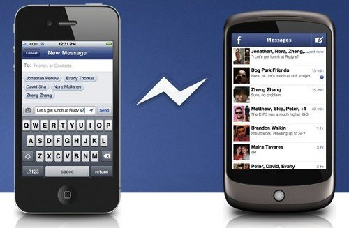 Facebook lanza aplicación Messenger para iPhone y Android