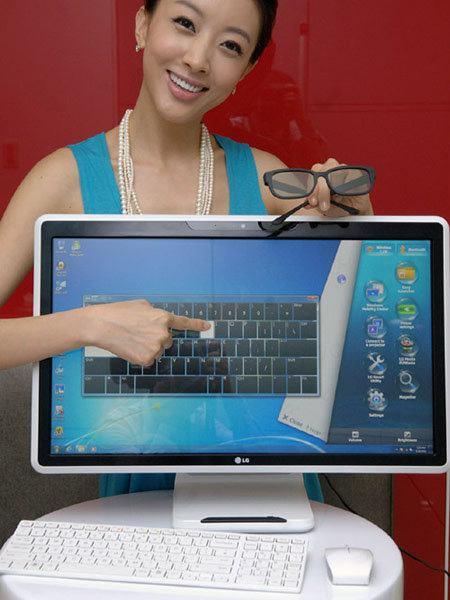 LG V300 3D, nueva todo en uno con monitor touch