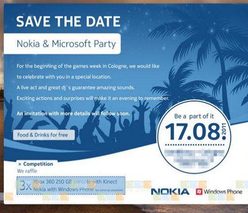 Microsoft y Nokia anuncian un evento para mediados de agosto