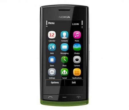 Nokia 500, nuevo smartphone Symbian a bajo precio
