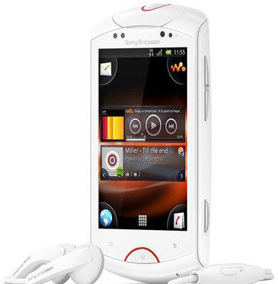 Sony Ericsson Live With Walkman, un nuevo smartphone Android con un enfoque musical