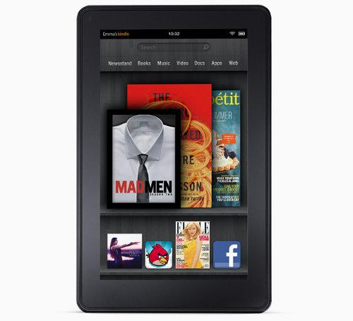 Amazon presenta al nuevo Kindle Fire