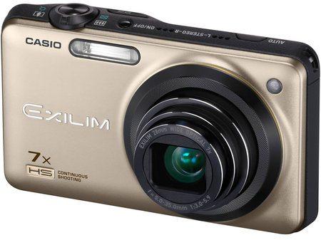 Casio Exilim EX-ZR15, una de las cámaras más rápidas del mundo