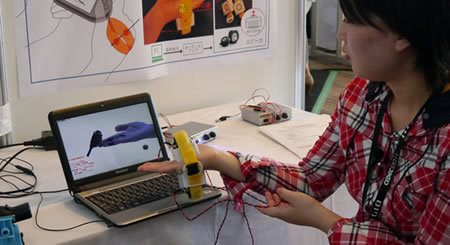 Con este dispositivo podremos simular la sensación de un objeto que nos atraviesa