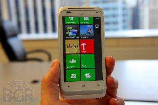 Detalles de los nuevos móviles WP7 Mango de HTC