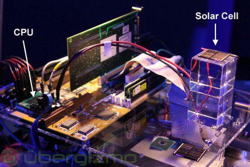 El nuevo chipset de Intel funcionará con energía solar
