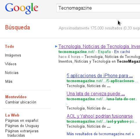 Google cambia su interfaz de búsqueda