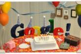 Google cumple 13 años y lo celebra con un doodle