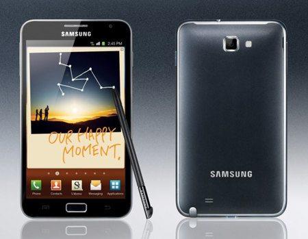 Samsung presenta el Galaxy Note, su nuevo smartphone de alta gama