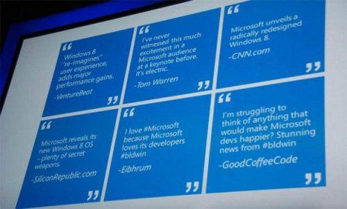 Windows 8 para desarrolladores ya ha tenido 500.000 descargas