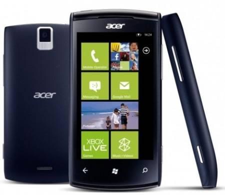 Acer Allegro, el móvil más barato con WP7