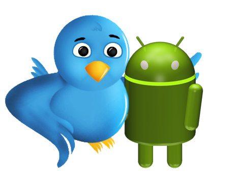Android ya está en Twitter
