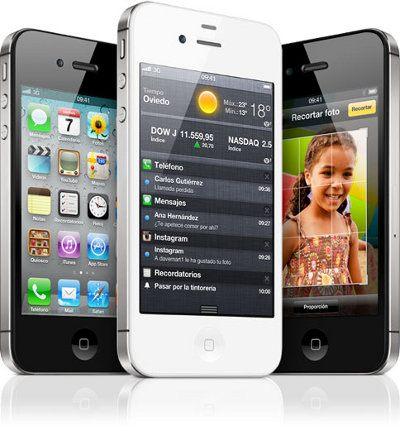 Apple vende 4 millones de unidades del iPhone 4S en un fin de semana