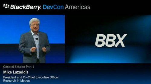 BBX, el nuevo sistema operativo de RIM