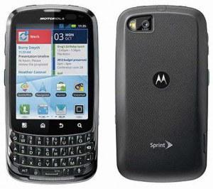 El Motorola Admiral ha sido anunciado para Sprint