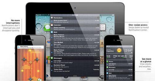 El lanzamiento de iOS 5 produjo problemas en la web