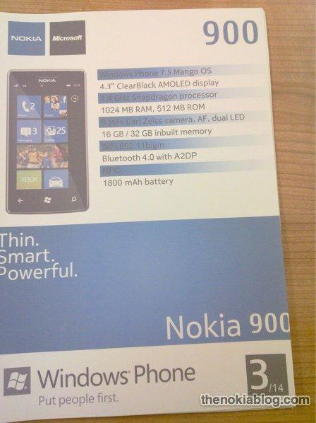 Este es el nuevo Nokia 900
