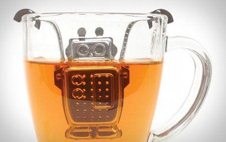 Este pequeño robot nos hace el té