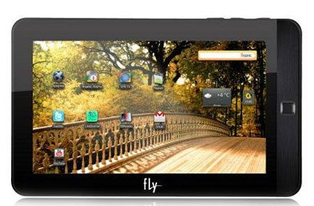 Fly Vision, un tablet Android de bajo costo
