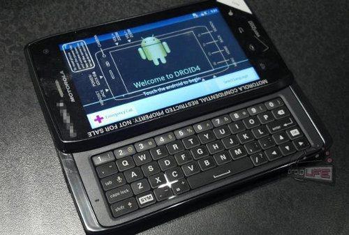 Foto filtrada del Motorola DROID4