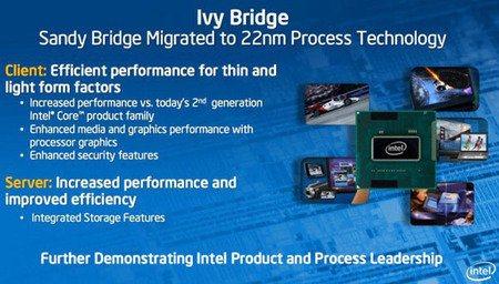 Intel lanzaría sus nuevos procesadores Ivy Bridge en marzo