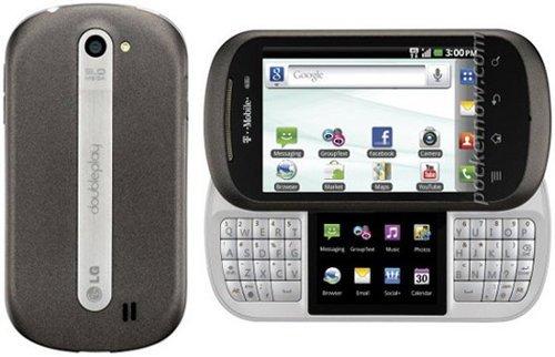 LG Doubleplay, un móvil con una segunda pantalla en medio del teclado