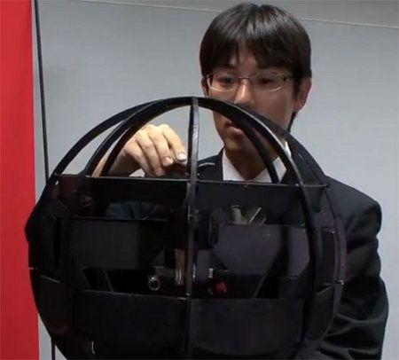 Mira el nuevo y estupendo robot volador de los japoneses