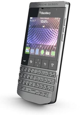 Nuevo BlackBerry Porsche P9981