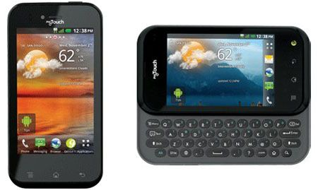 Nuevos T-Mobile myTouch y myTouch Q
