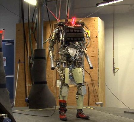 PETMAN, el robot capaz de imitar los movimientos de un soldado